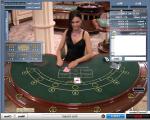 Live-Casino-Tisch mit Dealer