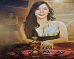 live casino roulette table